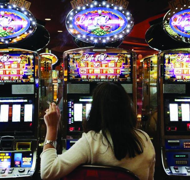 smoking casino