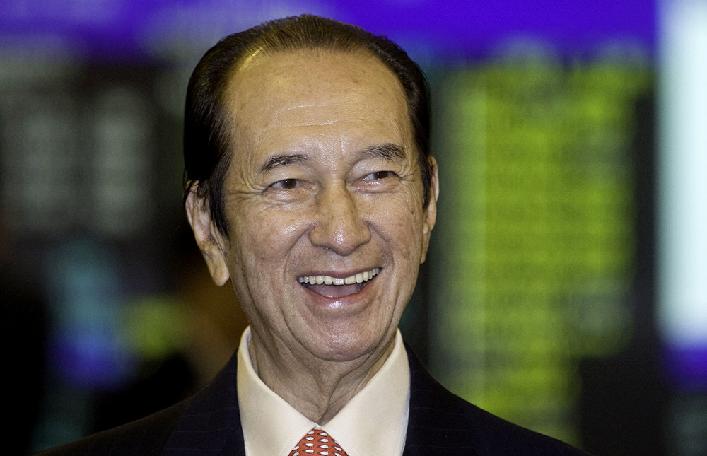 Macau's 'Godfather of Gambling' Stanley Ho Retires at 96